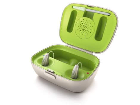 Phonak introduce rechargeable hearing aids for the first time