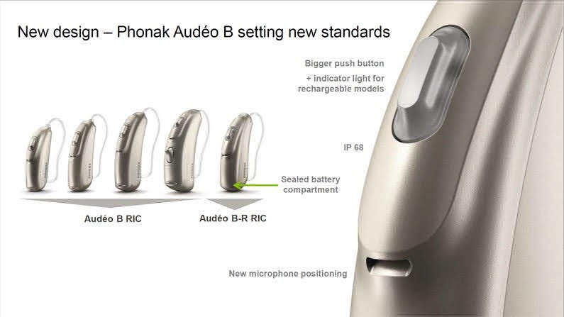 The Phonak Audeo Belong Hearing Aid Range